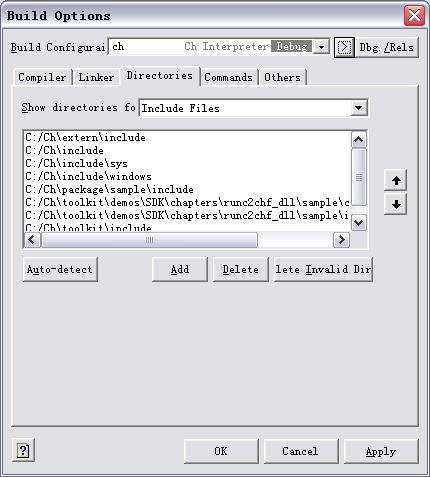 C Free Configure Ch