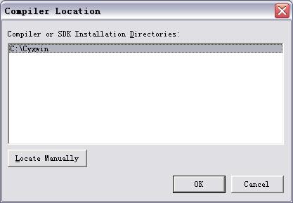 C-Free Configure Cygwin