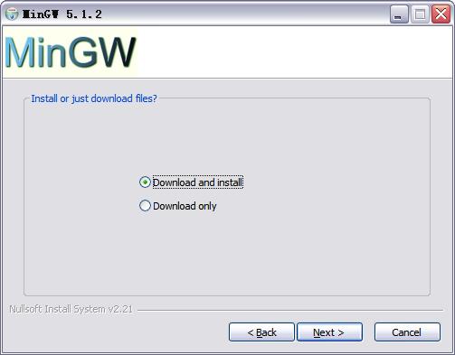 C-Free Install MinGW